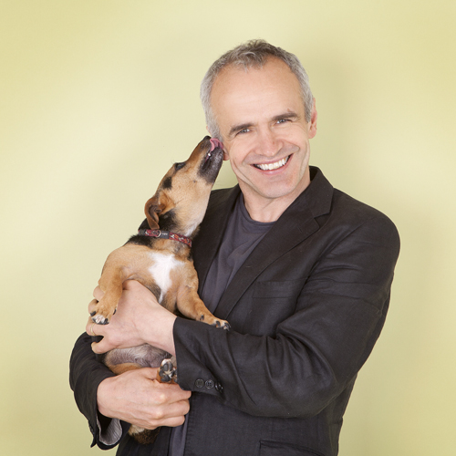 Pete, and his pet terrier Kiko, have become well-known on Irish television