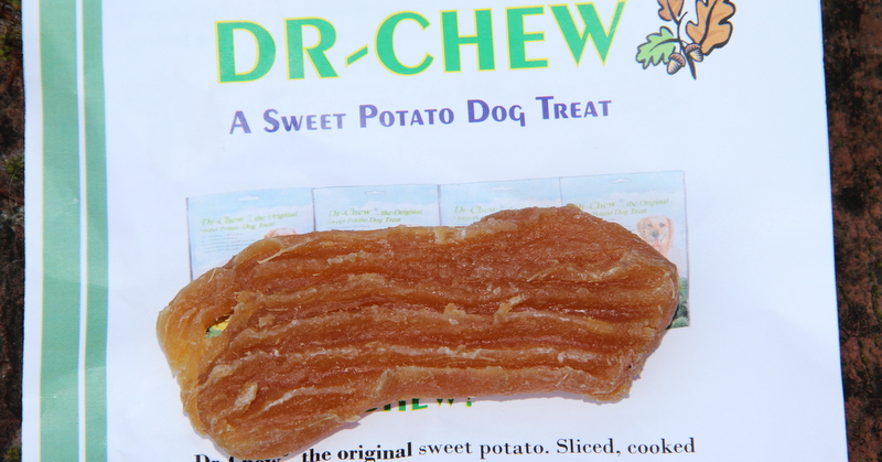 This dried sweet potato treat may not sound appealing to a dog, but Kiko loved it