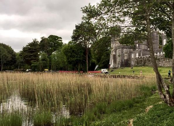 Lough Cutra Castle provided an idyllic setting for a triathlon