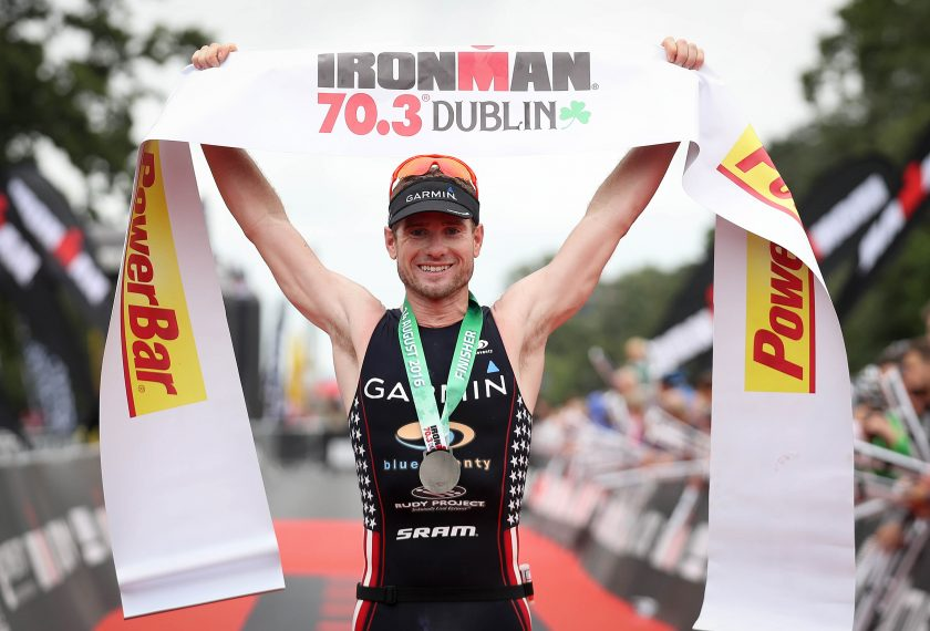 REPRO FREE***PRESS RELEASE NO REPRODUCTION FEE*** Ironman 70.3, Dublin 14/8/2016 America's Ben Collins wins The IRONMAN 70.3 Dublin Mandatory Credit ©INPHO/Ryan Byrne