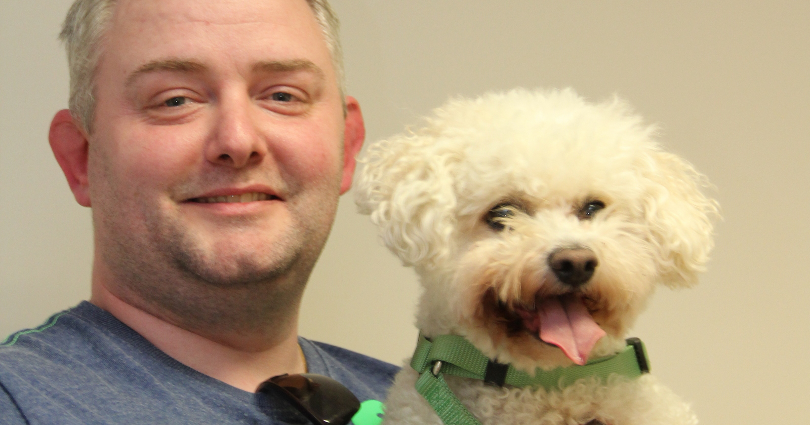 Daisy a 7 year old Bichon Frise reverse sneezes   Pete the Vet
